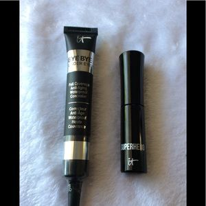 It cosmetics concealer & mini mascara